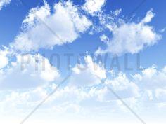 Fluffy Clouds - Tapetit / tapetti - Photowall