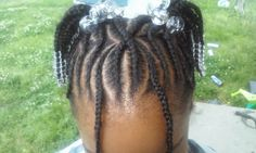 x - cornrows with beads Valentine's Day Hairstyles, Children Hairstyles, Natural Hairstyles For Kids, Cornrows With Beads, Cute Kids, Cute Babies, Natural Kids, Kid Hair, Cute Baby Clothes