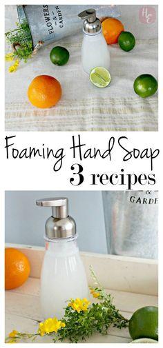 Foaming Hand Soap DIY: 3 Recipes                                                                                                                                                                                 More