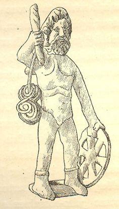 Taranis, Celtic god of thunder worshiped primarily in Gaul