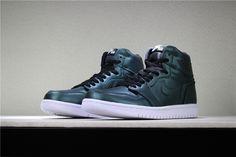 24c777689ca8c1 Newest Air Jordan 1 High Chameleon Dark Green Black-White 2018 Free  Shipping Jordan