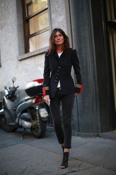 Emanuelle Alt, 15 street style photos from Milan Fashion Week | Harper and Harley