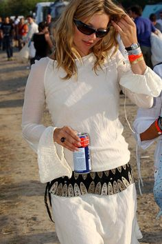 Kate Moss Glastonbury