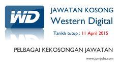 Jawatan Kosong Western Digital Terkini 2015