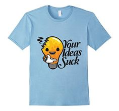 #Men's Your Ideas Suck #TShirt Medium Baby #BlueRealCool ... https://www.amazon.com/dp/B072PBZXV7/ref=cm_sw_r_pi_dp_x_.Mumzb12EHM9R