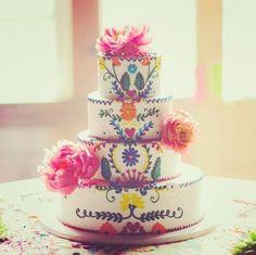 A trták, amik lepipálták a menyasszonyokat - 2014 legszebb esküvői tortái