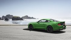 Ford Mustang has a bright new paint color, Need for Green - Autoblog