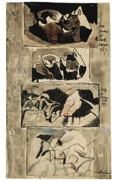 GRAHAM SUTHERLAND, O.M. | Four Studies