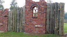 Sichtschutzmauer1