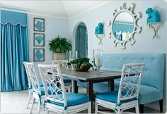 """Settee at the dining table... my kitchen says, """"Yes, please!"""""""