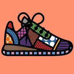Agony & Ecstacy by Craig & Karl — Agent Pekka Graphic Design Illustration, Illustration Art, Illustration Fashion, Craig And Karl, Pop Art Wallpaper, Cubism Art, Arte Popular, Art Graphique, Shoe Art