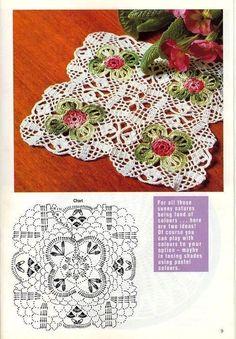 3. 4. 5. 6. 7. 8. 9. 10. 11. 12. 13. 14. 15. 16. 17. 18. 19. 20. 21.…: mettiss - LiveJournal Crochet Doily Diagram, Crochet Doily Patterns, Crochet Art, Crochet Home, Crochet Motif, Crochet Doilies, Crochet Flowers, Crochet Table Topper, Crochet Table Runner
