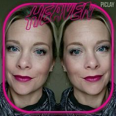 Bright lips and fun with makeup