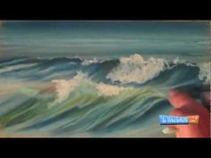 How to Draw Waves with Chalk Pastels - YouTube