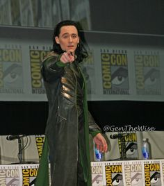 YOU. Yes, you. You have just been Loki'd. :D