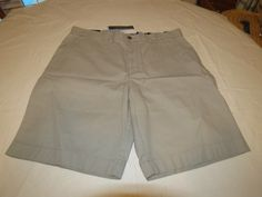 Men's Tommy Hilfiger 32 Classic Fit shorts 060 Film Grey 7880825 casual TH #TommyHilfiger #shorts