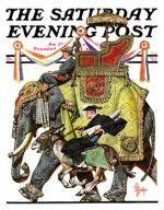 Political Party Symbols J.C. Leyendecker October 17, 1936 - See more at: http://www.saturdayeveningpost.com/artists-gallery/saturday-evening-post-cover-artists/jc-leyendecker-art-gallery#sthash.69CWDkYk.dpuf
