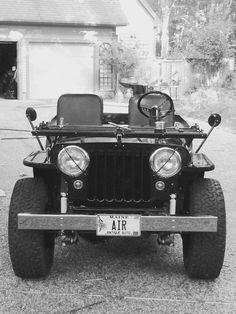 1948 Willys CJ-2A - Photo submitted by Andrew Robinson.