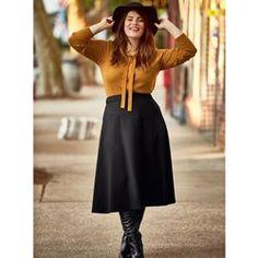 6443f79ce39a Mode Femme grandes tailles - Taillissime devient Castaluna en solde. Jupe  Longue ...