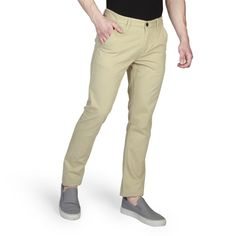 1caeb20accf11 Pantalones slim de hombre Timberland en color marrón claro modelo A17CO
