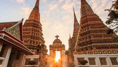 Places to visit in Bangkok Thailand Bangkok Thailand, Places To Visit, Tower, Building, Travel, Temples, Palaces, Rook, Viajes