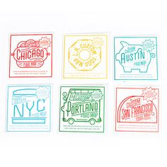 DIY City Food Map, by Ello There