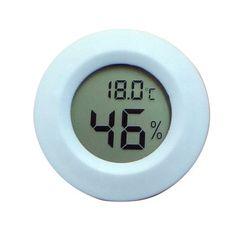 ℉ 6 Pack AUTIDEFY 6-Pack Mini Hygrometer Thermometer LCD Display Digital Temperature Humidity Meter Gauge for Incubators Reptile and Humidors Fahrenheit