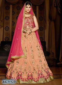 34b3932599 Desirable Beige Coloured Raw Silk Semi-stitched Lehenga Choli Party Wear  Lehenga, Ghagra Choli
