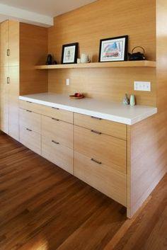 Kitchen Cabinetry.  Corey Martin, architect. THA Architecture. Decor, Furniture, Kitchen Cabinetry, House, Remodel, Corner Desk, Home Decor, Desk, Kitchen Design