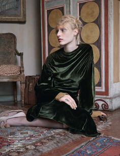 Publication: Another Magazine Fall/Winter 2013-2014 Model: Julia Nobis Photographer: Ben Toms Fashion Editor: Katie Shillingford Hair: Martin Cullen Make-up: Petros Petrohilos