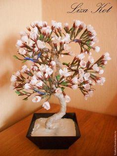 Изготовление бонсай «Цветущий абрикос» - Декор