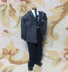 Pat Tyler Artist Made OOAK Male Man Dress Form Mannequin Figure 1:12 Doll #PatTyler