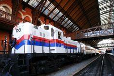 CFVV :: Sul de Minas, Brasil :: Trem turístico.