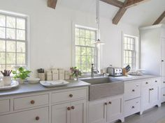 Soapstone countertops and sink ~ BOXWOOD TERRACE: Nancy Fishelson's Former Home