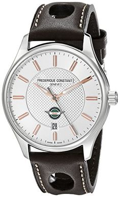 Men's Wrist Watches - Frederique Constant Mens FC303HV5B6 Healey Analog Display Swiss Automatic Brown Watch ** Find out more about the great product at the image link.
