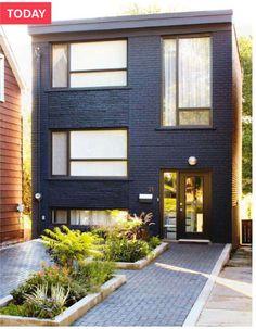 front exterior reno of arren williams' toronto home | House & Home | Photographer: Angus Fergusson