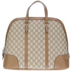 GUCCI logo tote ($1,080) ❤ liked on Polyvore