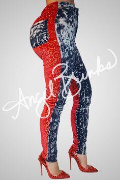 Sinister Jeans New (Red Rock) | Shop Angel Brinks on Angel Brinks