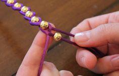 DIY $220 Wrap Bracelet for $5 | http://helloglow.co/how-to-220-bracelet-for-5/