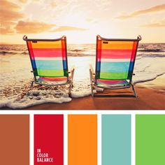 color arena, color del arco iris, combinación de colores para decorar interiores, esquema de colores, marrón y rojo, rojo y celeste, selección de colores para el diseño de interiores, tonos marrones, verde y anaranjado.