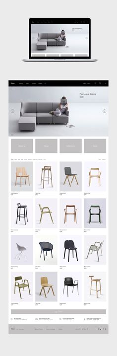Haas furniture. Identity and Website.