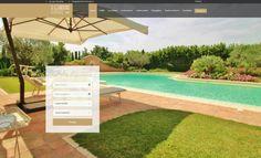 """Online il nuovo sito web per il B&B """"Il Giardino Ritrovato"""".  Il B&B con piscina a Fano per chi vuole concedersi il massimo.  www.ilgiardinoritrovato.it"""