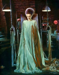 Bride of Frankenstein screenshots, images and pictures - Comic Vine Classic Monster Movies, Classic Horror Movies, Classic Monsters, Classic Films, Halloween Horror, Halloween Art, Vintage Halloween, Halloween Recipe, Halloween Cupcakes
