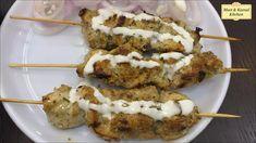 Chicken Starter Recipes, Chicken Cutlet Recipes, Chicken Snacks, Chicken Appetizers, Kebab Recipes, Indian Food Recipes, Snack Recipes, Chicken Cutlets, Tikka Recipe