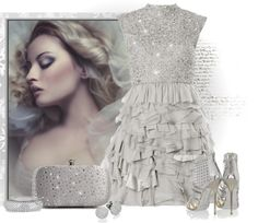 """""""silver"""" by johnna-cameron on Polyvore"""