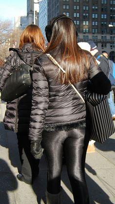 Lycra Leggings, Winter Suit, Scuba Girl, Disco Pants, Down Puffer Coat, Puffy Jacket, Leather Shorts, Jacket Style, Nylons