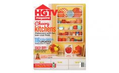 HGTV Magazine, September 2014 - Find Fiesta® Dinnerware on the cover  of this issue | Jayson Home