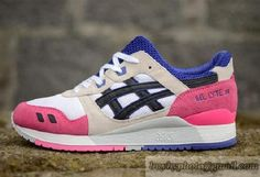Women's Asics Gel Lyte III Sneaker H301N White Pink|only US$95.00 - follow me to pick up couopons.