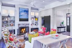 Inside a Beautiful Lowcountry Home That Isn't Afraid to Embrace Bold Colors  - CountryLiving.com
