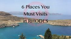 6 Places You Must Visit in Rhodes